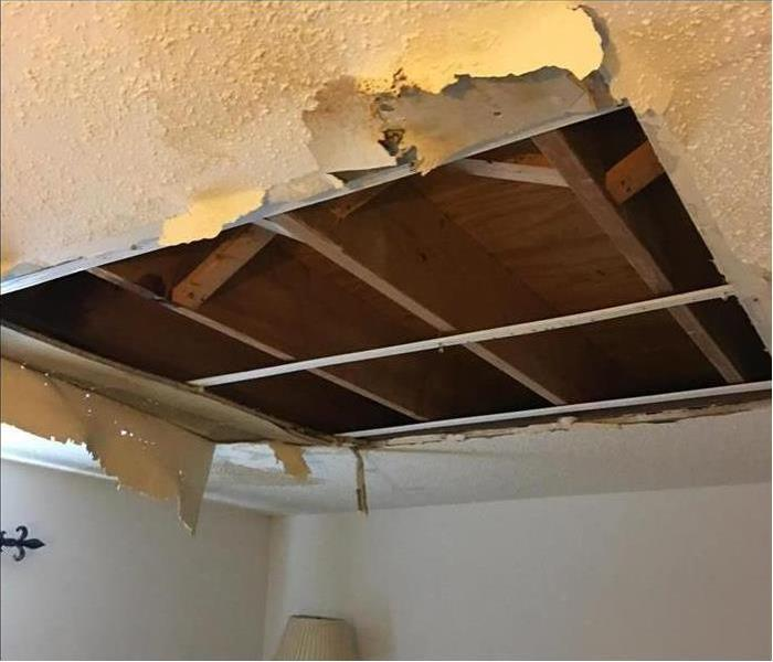 Louisville Water Damaged Roof and Ceiling